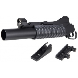 DBoys BIM-203 Long 3-in-1 Grenade Launcher Attachment- BLACK