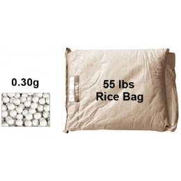 Lancer Tactical Airsoft 0.30g BBs Rice Bag - 55 lbs