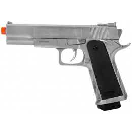 Airsoft M1911 Spring Pistol - SILVER