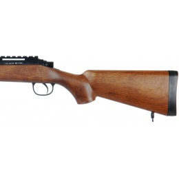 WELL Airsoft VSR-10 Bolt Action Rifle W/ Optic RIS - WOOD