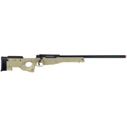 WELL Airsoft L96 AWP Bolt Action Rifle W/ Optic RIS - TAN