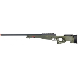 WELL Airsoft L96 AWP Bolt Action Rifle W/ Optic RIS - OD GREEN