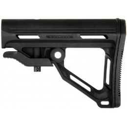ICS Airsoft M4/M16 Retractable MTR Carbine AEG Rifle Stock - BLACK