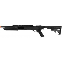 PPS M870 Tactical RIS Pump Action Shotgun w/ Retractable Stock