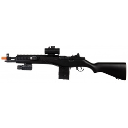 Double Eagle M806A2 / M306P M14 Airsoft AEG with Flashlight and Laser