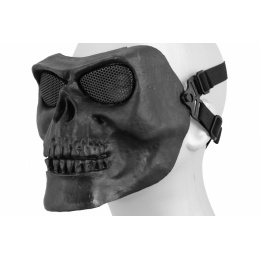 Airsoft Mesh Skull Full Face Mask Gen 2 - BLACK
