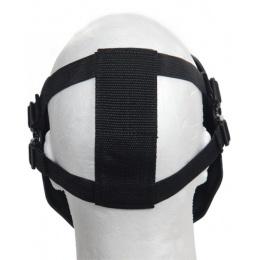 Airsoft Mesh Skull Full Face Mask Gen 2 - BLACK