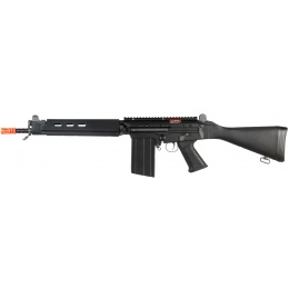 JG Airsoft FAL Full Metal Carbine Fixed Stock AEG - BLK