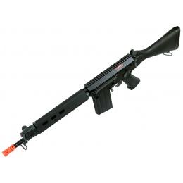 JG Airsoft FAL Full Metal Carbine Fixed Stock AEG - BLK