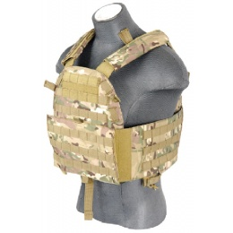 Lancer Tactical Airsoft 4906 MOLLE Tactical Vest - CAMO