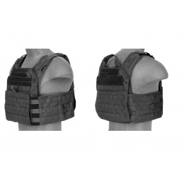 Lancer Tactical Speed Attack Tactical Vest - BLACK