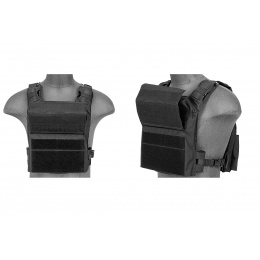 Lancer Tactical Speed Attack Tactical Vest - BLACK