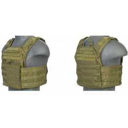 Lancer Tactical Speed Attack Tactical Vest - RANGER GREEN