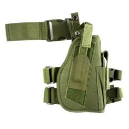AMA Airsoft Drop Leg M9 / P226 / P229 Pistol Holster - OD GREEN