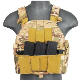 Lancer Tactical Airsoft SLK MOLLE Plate Carrier - CAMO