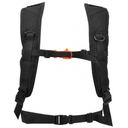 Lancer Tactical Lightweight Airsoft Hydration Pack - BLACK