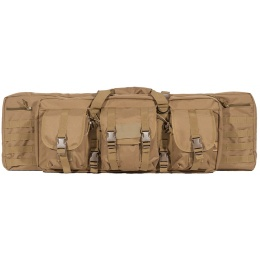 Lancer Tactical Airsoft MOLLE 36-inch Double Gun Bag - TAN