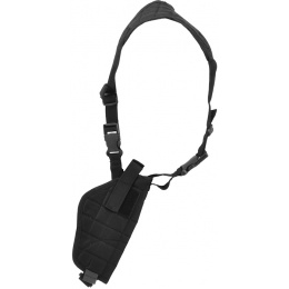 Lancer Tactical CA-349B Vertical Shoulder Holster - BLACK