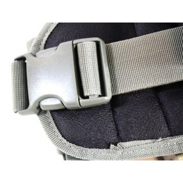 AMA MOLLE Drop Leg Airsoft Pistol Holster - DIGITAL ARMY ACU