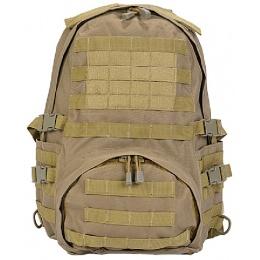 Lancer Tactical Airsoft Patrol Backpack w/ QD Buckles - DARK EARTH