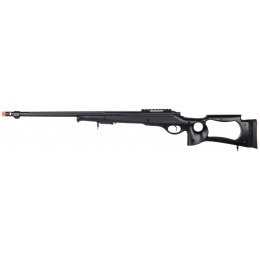 WellFire M70 Airsoft Bolt Action Sniper Rifle w/ Bipod - BLACK