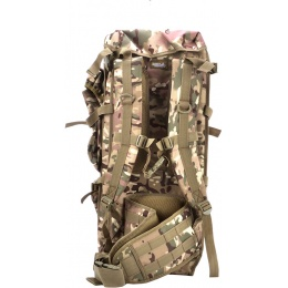 Lancer Tactical Airsoft MOLLE Rifle Backpack - CAMO