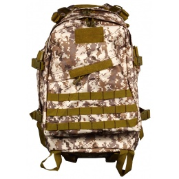 Airsoft Megastore Armory MOLLE Backpack - DIGITAL DESERT TAN