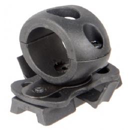 Lancer Tactical Airsoft FAST Helmet 20mm Rail Flashlight Clamp-BLACK