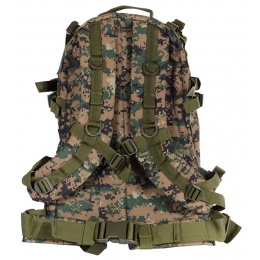 Airsoft Megastore Armory MOLLE Backpack - DIGITAL WOODLAND CAMO