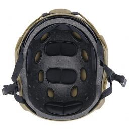 Lancer Tactical Airsoft Ballistic Type Helmet Basic Ver. w/ Visor-MED