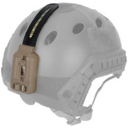 Lancer Tactical Multi-Function 3-LED Helmet Light - DARK EARTH