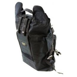 AMA Folding Backpack w/ MOLLE Webbing - BLACK