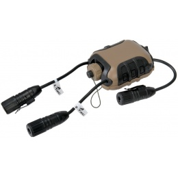 Lancer Tactical Z40PS Classic Push-To-Talk (PTT) - MOTOROLA 1-Pin