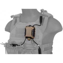 Lancer Tactical Z40PS Classic Push-To-Talk (PTT) - MOTOROLA 1-Pin