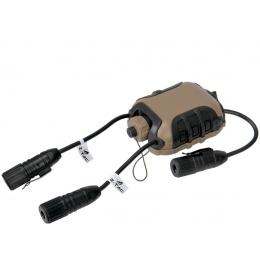 Lancer Tactical Z40PS Classic Push-To-Talk (PTT) - MOTOROLA 2-Pin