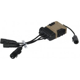 Lancer Tactical Z40PS Pro Push-To-Talk (PTT) Lite Edition - Icom