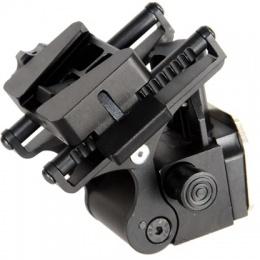 Lancer Tactical TATM Night Vision Goggle Helmet Mount - BLACK