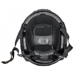 Lancer Tactical CA-805B ABS Maritime Airsoft Helmet Med/Lrg - BLACK