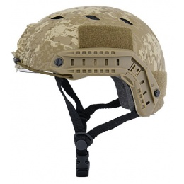 Lancer Tactical BUMP BJ Type Helmet with Visor - DESERT DIGITAL