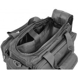 Lancer Tactical CA-980B Small Range Bag with MOLLE Webbing - BLACK