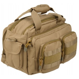 Lancer Tactical CA-980T Small Range Bag with MOLLE Webbing - TAN