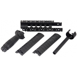 Cyma Aluminum MK5 RIS Handguard with Rail Covers and Outer Barrel