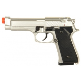 HFC HA-118S 220FPS Premium Spring Tactical Airsoft Pistol - SILVER