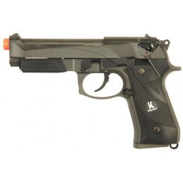 HFC HG-192 Semi Auto Gas Blowback Airsoft Pistol - BLACK
