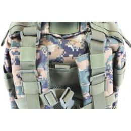 Airsoft Megastore Armory Advanced Backpack - DIGITAL WOODLAND CAMO