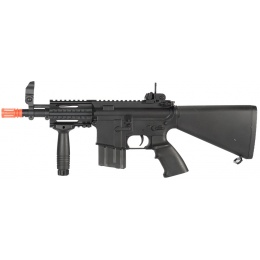 A&K Stubby CQB Tactical Full Metal M4 Series Airsoft AEG - BLACK