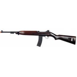 UK Arms Airsoft M1 Carbine World War II Spring Rifle - WOOD