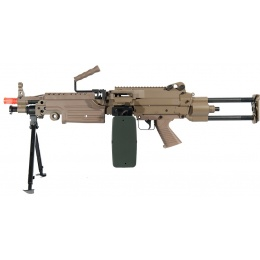 A&K Airsoft M249 PARA-T AEG Full Metal Machine Gun w/ Bipod