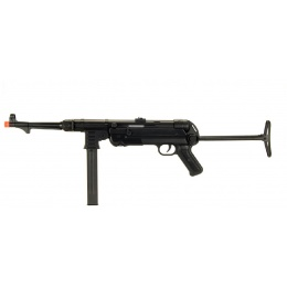 AGM WWII MP40 Maschinenpistole Airsoft AEG - BLACK