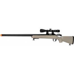 WellFire Airsoft VSR-10 Bolt Action Rifle w/ Scope - TAN
